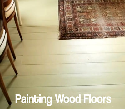 Picture of painted wood floors