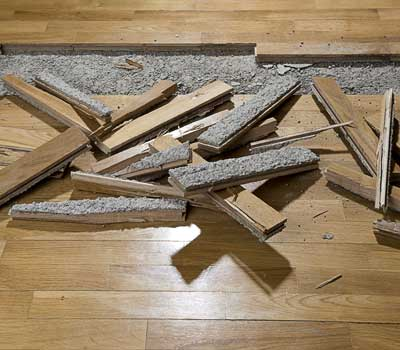 easy hardwood floor repair