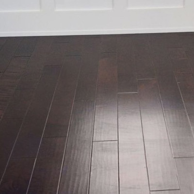 Clean up your hardwood floor to restore their dark beauty